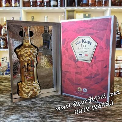 Rượu Ice Kube Gold 750ml Hộp Quà