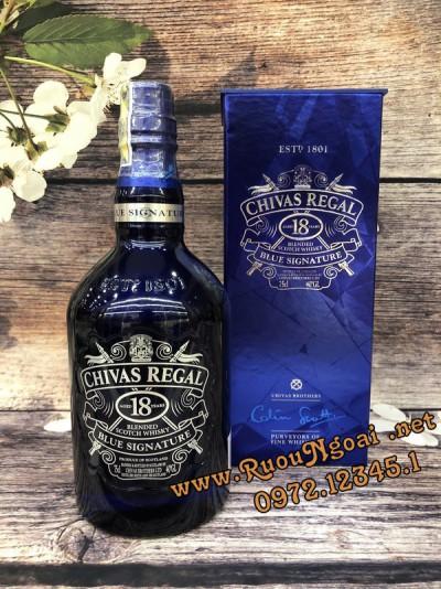 Rượu Chivas 18YO Blue