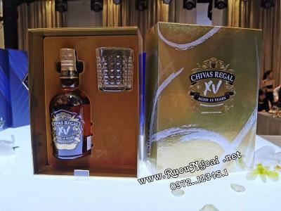 Rượu Chivas Regal XV - Hộp Quà 2020
