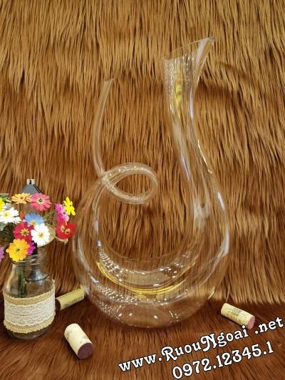 Bình Đựng Rượu Vang - Decanter Dáng Đẹp M23