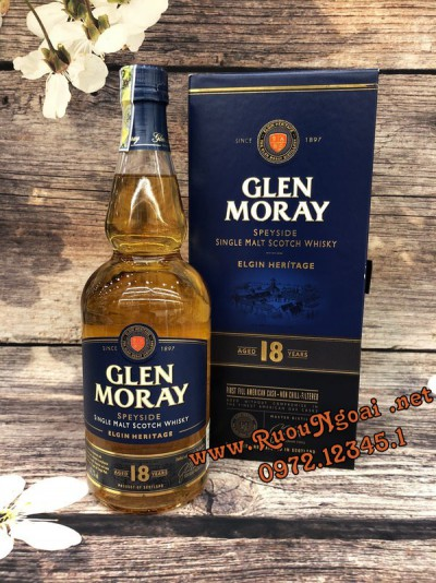 Rượu Glen Moray 18YO