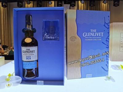 Rượu Glenlivet Founder's Resere - Hộp Quà 2020