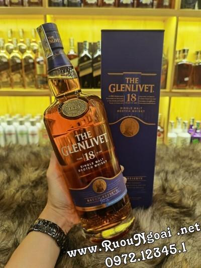Rượu Glenlivet 18 Năm - 1000ml