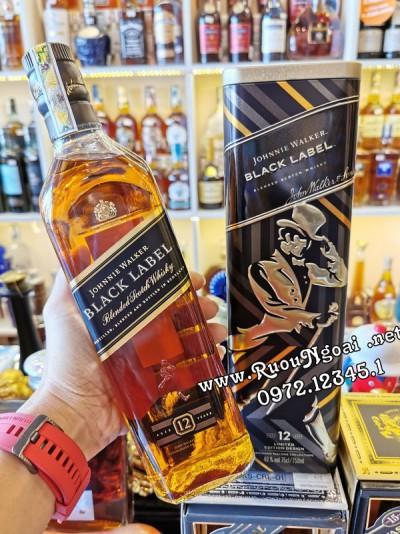 Rượu Johnnie Walker Black Label - Hộp Quà 2020