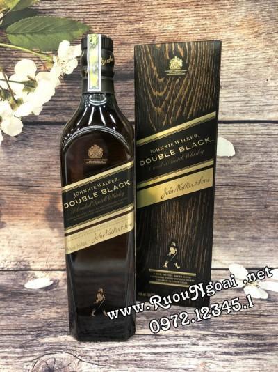 Rượu Johnnie Walker Double Black