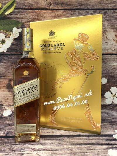 Rượu Johnnie Waker Gold Label - Hộp Quà 2019