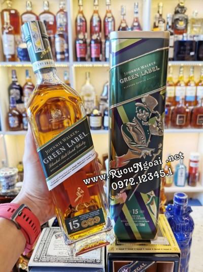 Rượu Johnnie Walker Green Label 2020
