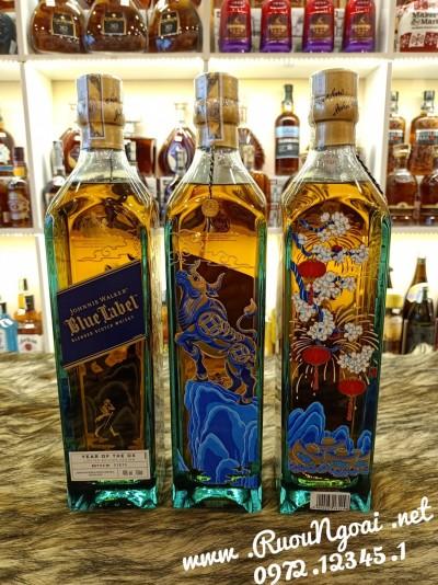 Rượu Johnnie Walker Blue OX - Tân Sứu 2021