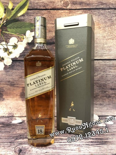 Rượu Johnnie Walker Platinum Label