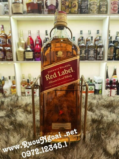 Rượu Johnnie Walker Red Label 3000ml