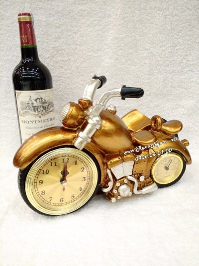 Kệ Rượu Vang Xe Moto Thời Gian