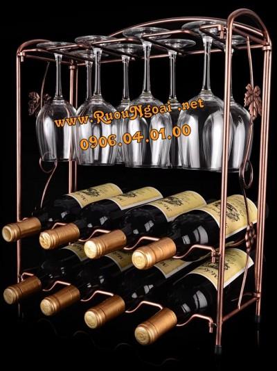 Kệ Rượu Vang 10 Chai