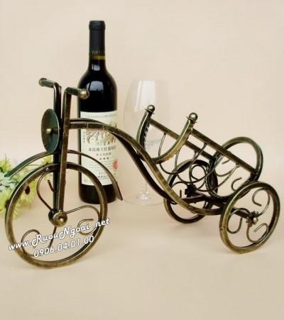 Kệ Rượu Vang Xe Đạp
