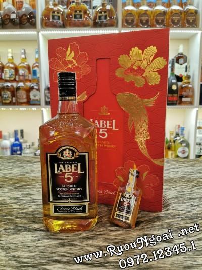Rượu Label 5 Classic - Hộp Quà 2020