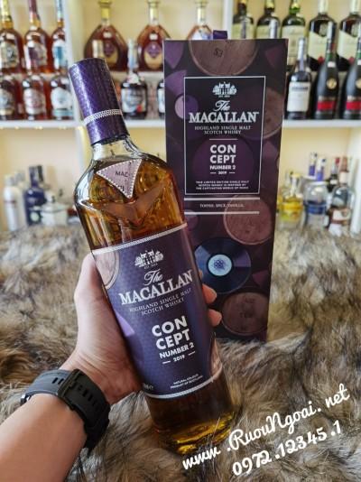 Rượu Macallan Concept Number 2