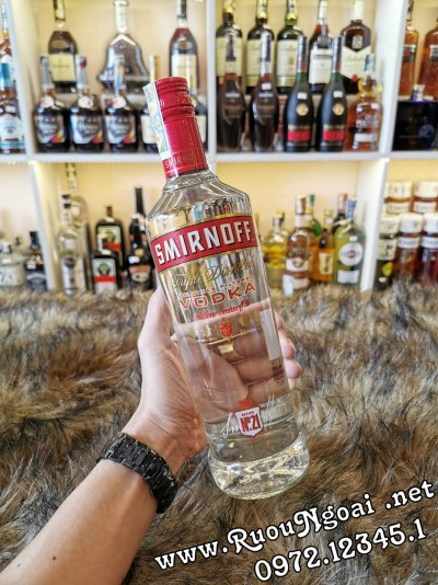 Rượu Vodka Sminornoff Red