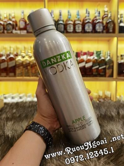 Rượu Vodka Danzka Apple