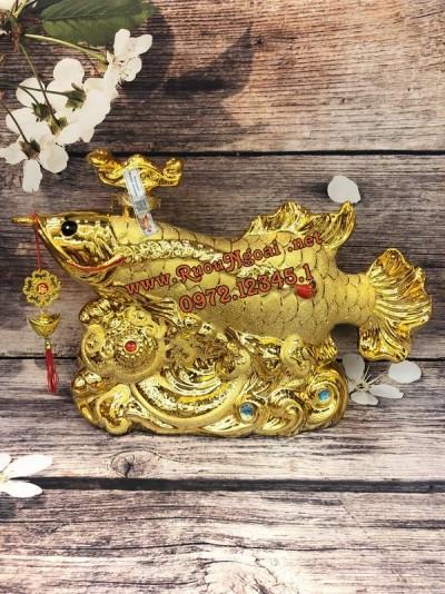 Rượu Phong Thủy Cá Rồng Ngân Long 4500ml