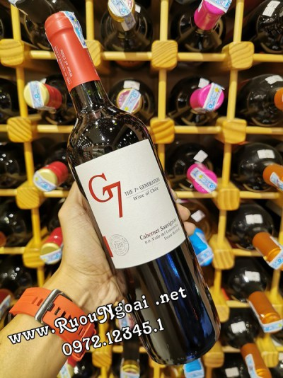 Rượu Vang G7 Cabernet Sauvignon