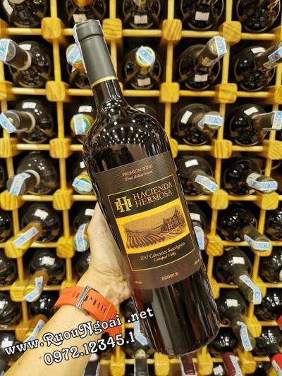 Rượu vang HH Hacienda Hermosa 1500ml