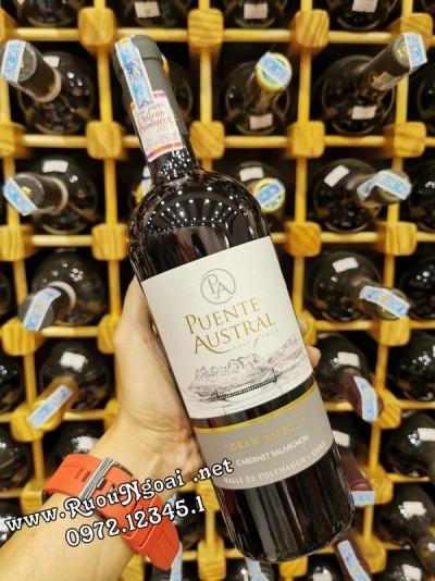 Rượu Vang Puente Austral Gran Reserva