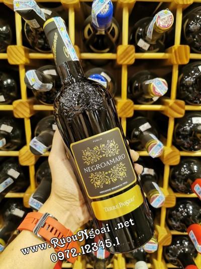 Rượu Vang Ý Terre Passeri Negroamaro