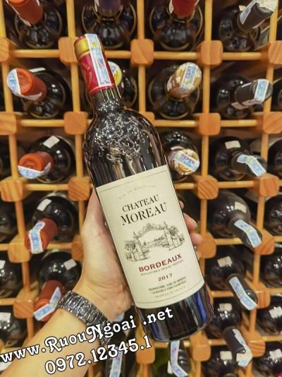 Rượu Vang Pháp Chateau Moreau Bordeaux