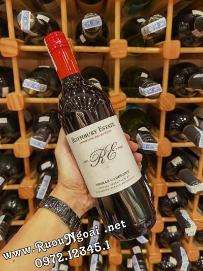 Rượu vang Úc Rothbury Estate Shiraz Cabernet
