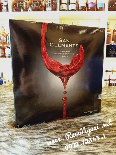 Rượu Vang Chile San Clemente Ngon Hơn