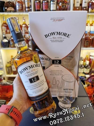 Rượu Bowmore 12YO - Hộp Quà 2020